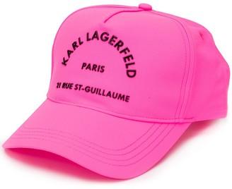 Karl Lagerfeld Paris Rue St Guillaume baseball cap
