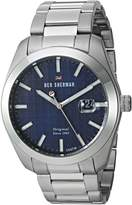 Ben Sherman Men's 'The Ronnie Professional' Quartz Stainless Steel Casual Watch, Color:Silver-Toned (Model: WBS109BSM)