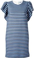 MSGM striped T-shirt dress - women - Cotton/Polyamide/Polyester/Spandex/Elastane - 38