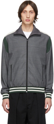 Stella McCartney Grey Jerry Blouson Track Jacket