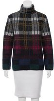 Suno Mohair-Blend Plaid Sweater w/ Tags