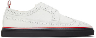 Thom Browne White Cupsole Longwing Brogues
