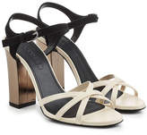 Jil Sander Sandals with Leather and Suede