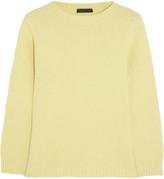 Tisa merino wool and cashmere-blend sweater