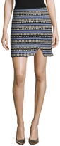 BCBGeneration Printed Mini Skirt