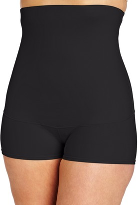 Flexee Maidenform Women's Shapewear Smoothing Hi-Waist Boyshort