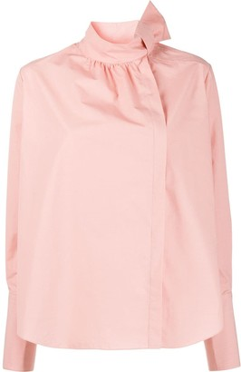Fendi bow detail blouse