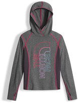 The North Face Reactor Hooded Jersey Tee, Gray, Size XXS-L