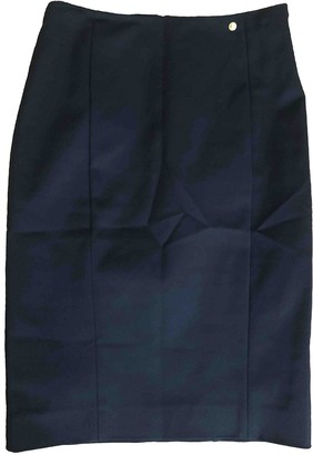 Versus Black Cotton - elasthane Skirt for Women