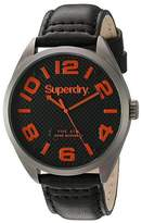 Superdry Men's SYG192BRA Military Analog Display Quartz Watch