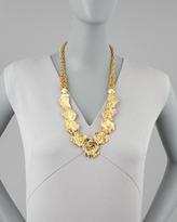 Jose & Maria Barrera Gold Nugget Necklace