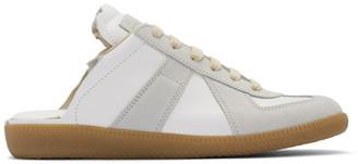 Maison Margiela White Backless Replica Sneakers