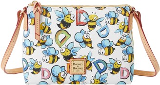 Dooney & Bourke Bumble Bee Crossbody Pouchette