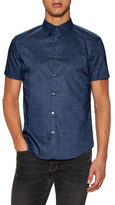 Cuffed Short Sleeve Sportshirt