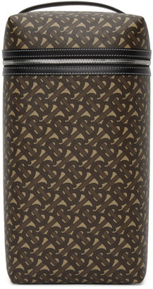 Burberry Brown Monogram E-Canvas Sneaker Bag