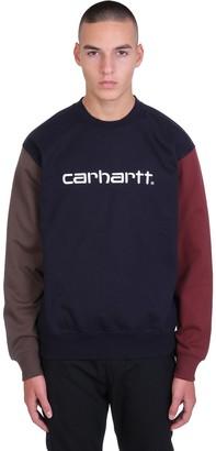 Carhartt Sweatshirt In Blue Cotton