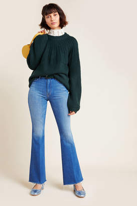 Mother The Weekender High-Rise Flare Jeans