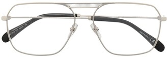 Givenchy Eyewear Unisex Aviator Optical Glasses