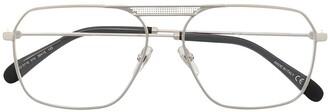 Givenchy Unisex Aviator Optical Glasses