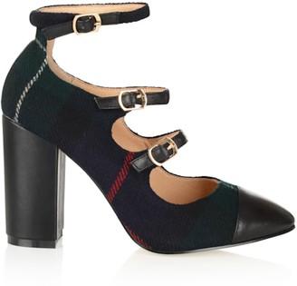 Yull Shoes Battersea Tartan