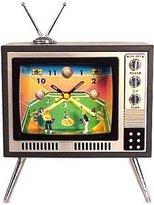 Baseball Sports Television TV Alarm Clock