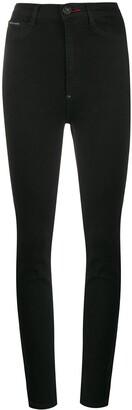 Philipp Plein Super High Rise Skinny Jeans