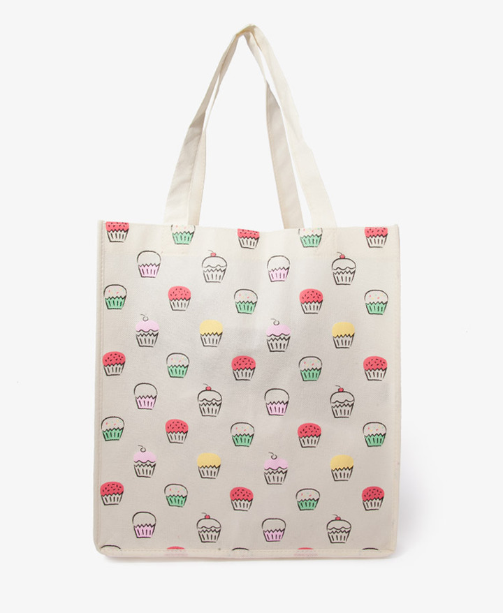 Forever 21 Cupcake Shopper's Tote