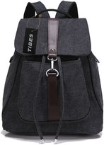 Tibes Canvas Backpack for Women/Girls