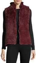 Bagatelle Faux-Fur Knitted Vest