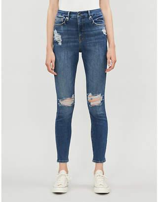 Good American Good Waist skinny-fit denim jeans