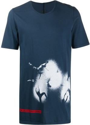 Rick Owens Level tie-dye print T-shirt