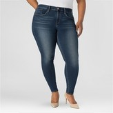 Denizen from Levi DENIZEN® from Levi's® Women's Plus Size Essential Stretch Shaping Curvy Skinny Jeans