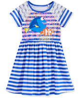 Disney Disney's Dory Striped Dress, Little Girls (2-6X)