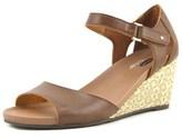 Dr. Scholl's Lilah Women Open Toe Synthetic Wedge Sandal.