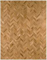 Modloft Chevron Stitched Hide Rug
