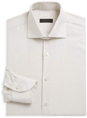 Saks Fifth Avenue Linen Blend Dress Shirt