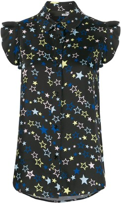 Love Moschino Star Print Blouse