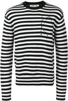 McQ by Alexander McQueen striped jumper - men - Cashmere/Wool - S