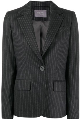 Lorena Antoniazzi Tailored Pinstripe Blazer