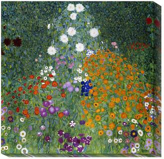 Gustav Global Gallery Farmer's Garden By Klimt