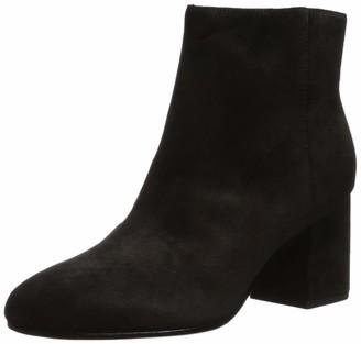 Via Spiga Women's V-Maury Ankle Boot Black Suede 5.5 M US