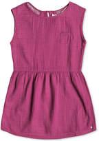 Roxy Mesh-Back Cotton Dress, Big Girls