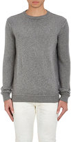 The Elder Statesman Men's Cashmere Reverse-Seam Sweater