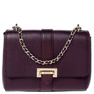 Aspinal of London Burgundy Leather Handbags