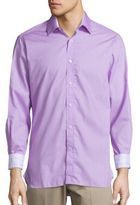 Report Collection Regular-Fit Pindot Cotton Sportshirt