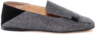 Sergio Rossi Metallic Effect Loafers