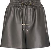 Diane von Furstenberg Fontana Leather Short