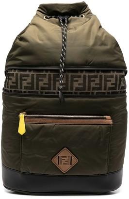 Fendi FF-logo backpack