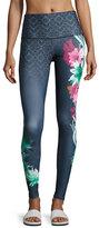 Onzie Onzie High-Rise Graphic Legging, Black Pattern