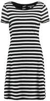 comma Casual Identity Jersey dress white/black
